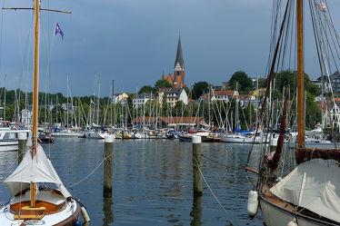 Bild mit Schiffe, Häfen, Ostsee, Schiff, boot, Meer, Hafenstadt, Boote, Stadt, Nordsee