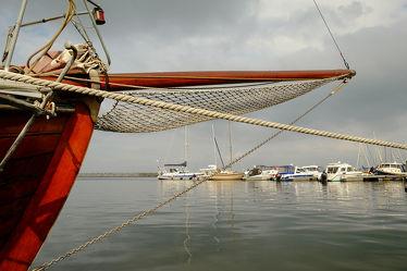 Bild mit Häfen, Häfen, Boote, Boote, Zingst, Ostseeküste, Segler, Stadthafen, Barth, Skipper, Bug