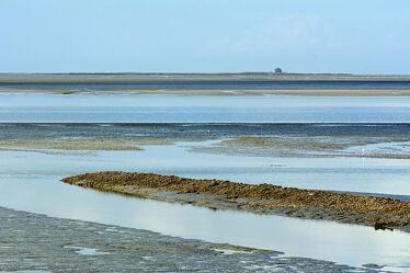 Bild mit Nordsee, Wattenmeer, Ebbe, Naturpark, Pellworm, Tide, Priele