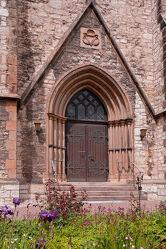 Bild mit Kirche, Ausspannen, eingang, Aufgang, Hildesheim, Moritzberg, Christuskirche