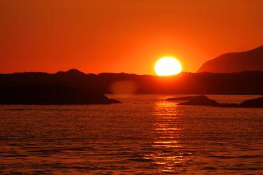 Abend am Fjord II