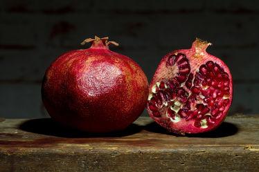 Bild mit Früchte, Frucht, Obst, Küchenbild, Stillleben, Küchenbilder, KITCHEN, frisch, Küche, Kochbild, Granatäpfel, Granatäpfel