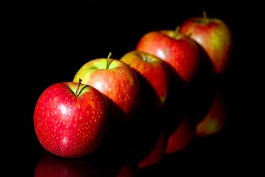 Bild mit Früchte, Frucht, Obst, Küchenbild, Apfel, Apfel, Stillleben, Küchenbilder, KITCHEN, frisch, Küche, Kochbild
