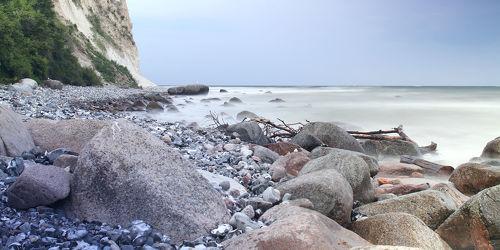 Bild mit Natur,Wasser,Landschaften,Gewässer,Meere,Meere,Strand,Ostsee,Meer,Landschaft,Steine,Steinstrand