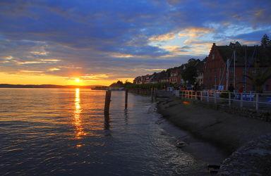 Bild mit Wasser, Gewässer, Küsten und Ufer, Strände, Sonnenuntergang, Sonnenaufgang, Strand, Meer, Küste, Am Meer, Kliff
