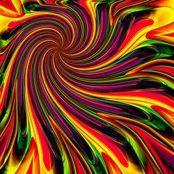 Bild mit Abstraktes