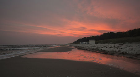 Sunrise in Zingst