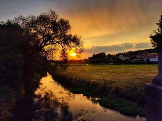 Bild mit Farben, Landschaften, Sonnenuntergang, Sommer, Landschaften & Stimmungen