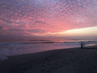 Bild mit Wasser,Gewässer,Strände,Sonne,Paradies,Sonnenuntergang/Sonnenaufgang,Costa Rica,Strand und Meer,Playa Santa Teresa