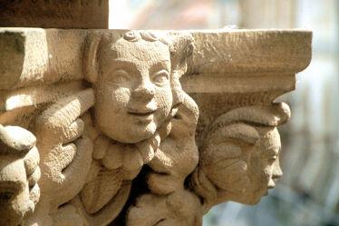 Görlitz - Figuren an Justiziasäule