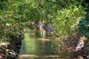 Bild mit Natur, Wasser, Landschaften, Jahreszeiten, Gewässer, Sommer, Ruhe, Entspannung, Entspannen, Fluss