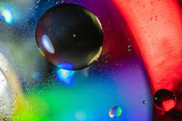 Bild mit Farben, Kunst, Abstrakte Kunst, Kunstwerk, Perspektive, Objekte, Design, Formen und Muster, Surreal, Digitale Kunst, Stillleben & Objekte, Kugeln, Kreislauf, kreise