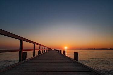 Bild mit Himmel, Jahreszeiten, Wellen, Sommer, Sonnenaufgang, Strandblick, Ostsee, Meer, Weitblick, Ruhe am See