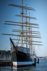 Bild mit Wasser, Schiff, Historisch, Segler, Museum, Travemünde, Passat, Trave, Frachtensegler, Ankerplatz