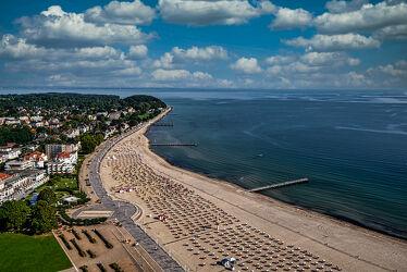 Bild mit Urlaub, Sommer, Sonne, Strand, Strandkörbe, Ostsee, Ruhe, Entspannung, Erholung, Travemünde