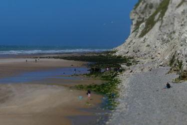 Bild mit Felsen, Frankreich, Strand, Meer, Küste, Ebbe, Unschärfe, Schärfe