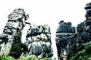 Bild mit Natur, Himmel, Felsen, Stein