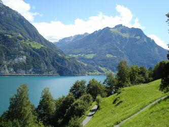 Bild mit Natur, Berge und Hügel, Landschaft, See, Schweiz