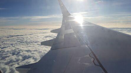 Bild mit Himmel, Sonne, Wolkenhimmel, Wolken am Himmel, Überden Wolken