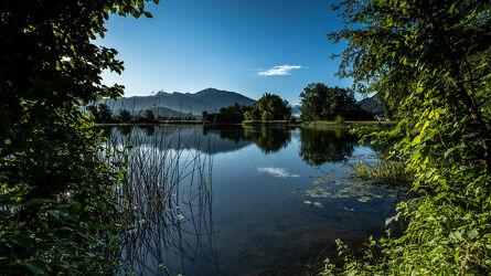 Bild mit Landschaften, Sonnenuntergang, Sonnenaufgang, Landschaftspanorama, Teich, Landschaften & Stimmungen