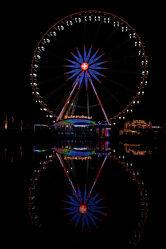 Bild mit Herbst, Markt, Riesenrad, Herbstmesse, Luzern