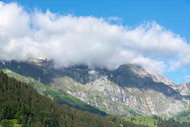 Bild mit Landschaften, Berge, Wolken, Landschaft, Wolkengebilde, Wolkenhimmel Panorama, landscape, Landschaftspanorama, berg