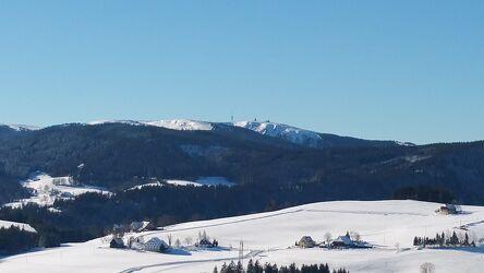 Bild mit Berge und Hügel, Ski Langläufer, Berge und Almen, Schnee in den Bergen