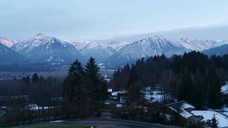 Bild mit Berge und Hügel, Allgäu, Schnee in den Bergen, Hohe Berge, Allgäuer Alpen