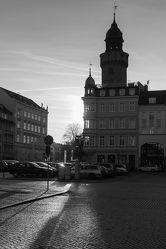 Bild mit Stadt,Stadt Görlitz,Görlitz,Görlitz Blick,Görlitz und Umgebung,City,schwarz weiß,Goerlitz