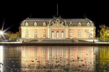 Bild mit Winter, Eis, Schloss, Museum, Benrath, Düsseldorf