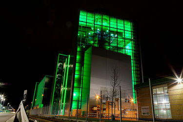 Düsseldorf Kraftwerk Lausward Block Fortuna
