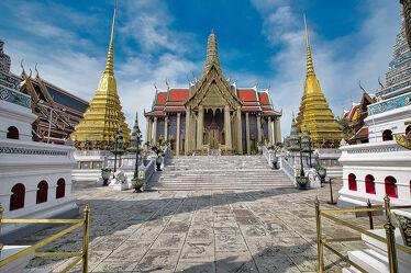 Bild mit Kunstwerk, asien, südostasien, Tempelanlagen, Tempel, Religion, Palast, Thailand, Bangkok, Königspalast