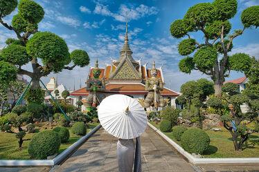 Bild mit Kunst, asien, südostasien, Tempelanlagen, Tempel, Religion, Thailand, Bangkok