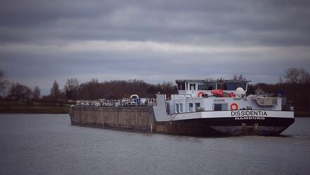 Bild mit Frachtschiffe, Schifffahrt, Binnenmeer, Kanal, Dattelner Meer