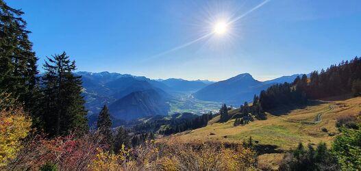 Bild mit Berge, Graubünden, Churer Rheintal