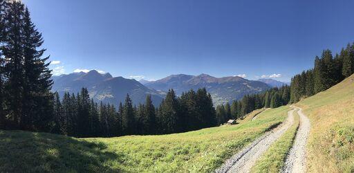 Bild mit Berge und Hügel, Wanderweg, Bergwelten, Wanderungen, Bergwanderung