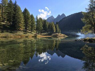Bild mit Berge, Bergsee, Bergwelten, stausee