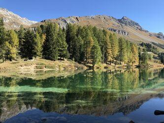 Bild mit Berge, See, Gewässer im Wald, Bergwelten, Wasserspiegelung, stausee