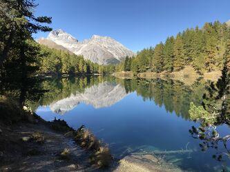 Bild mit Berge, Bergsee, See, Gewässer im Wald, Bergwelten, Wasserspiegelung