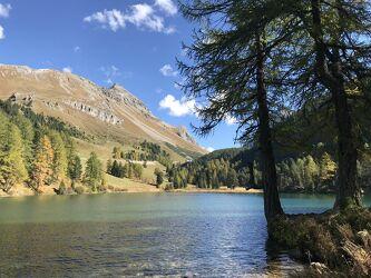 Bild mit Berge, Bergsee, See, Gewässer im Wald, Bergwelten