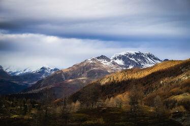 Bild mit Wolken, Herbst, Alpenland, Alpen Panorama, Panorama, Wolkenhimmel, Stürmisch, Simplon
