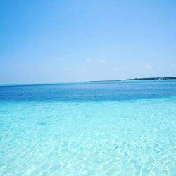 Bild mit Sonne, Meerblick, Meer, Malediven, Atlantik