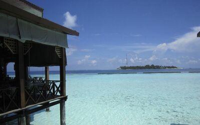 Bild mit Meerblick, Meer, Ocean, Malediven