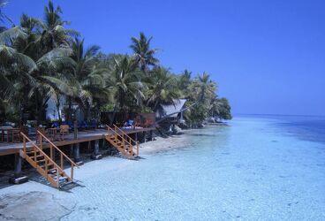 Bild mit Meerblick, Meer, Malediven
