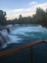 Bild mit Wasser, Blau, Wasserfall, Türkei, Fluss