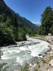 Bild mit Wasser, Blau, Steine, Bach, Fluss