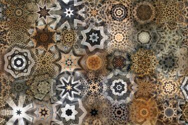 Bild mit Farben, Braun, Digital Art, Afrika, Formen und Muster, Fernweh, safari