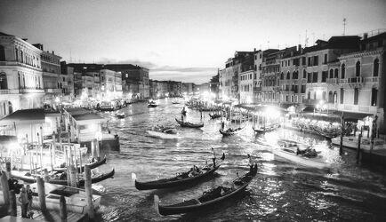 Bild mit Italien, Italien, schwarz weiß, venedig