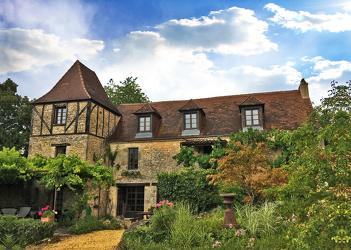 Bild mit Gebäude,Frankreich,Meyrals,Périgord,château de la Borderie,Anwesen,Gutshaus,Herrenhaus,Schloss,Rittergut,Weingut,Adelsgut