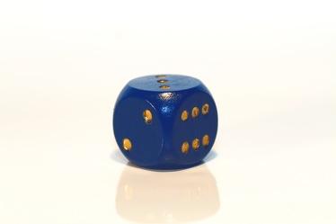 Bild mit Farben,Gegenstände,Weiß,Blau,Blau,Spiele und Spielzeuge,Würfel,Spielwürfel,Glückswürfel,Würfelspiel,6er Würfel,Spiel